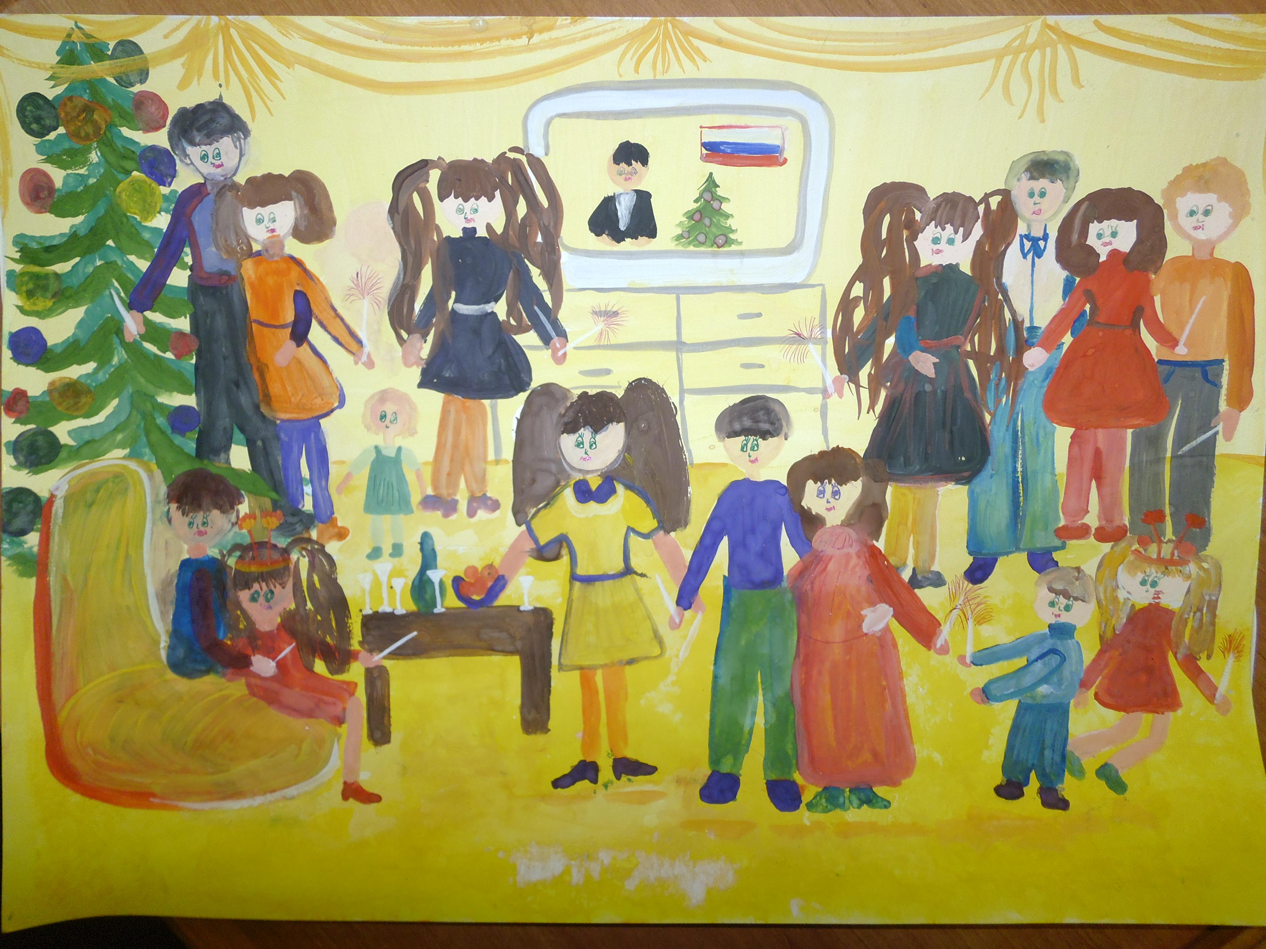 Конкурсов детского рисунка каникулы